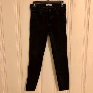 Loft - Jean Legging - 4/27 - Black
